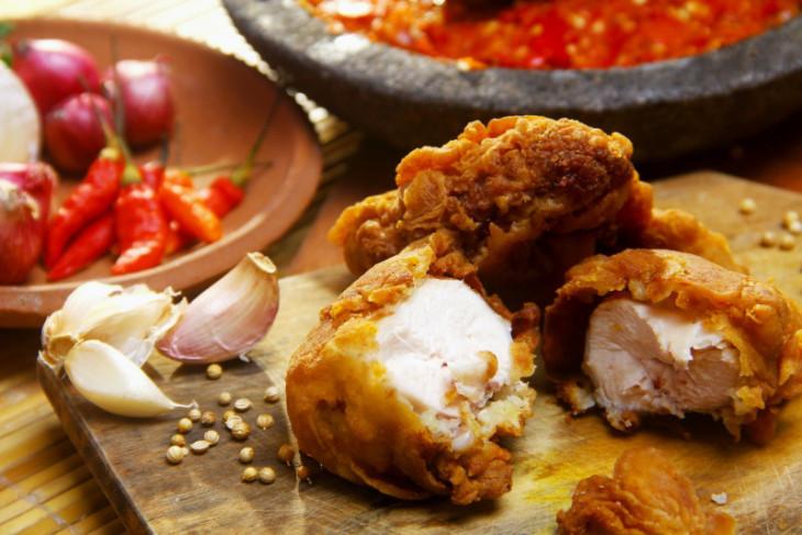 Cara menggoreng ayam tepung agar