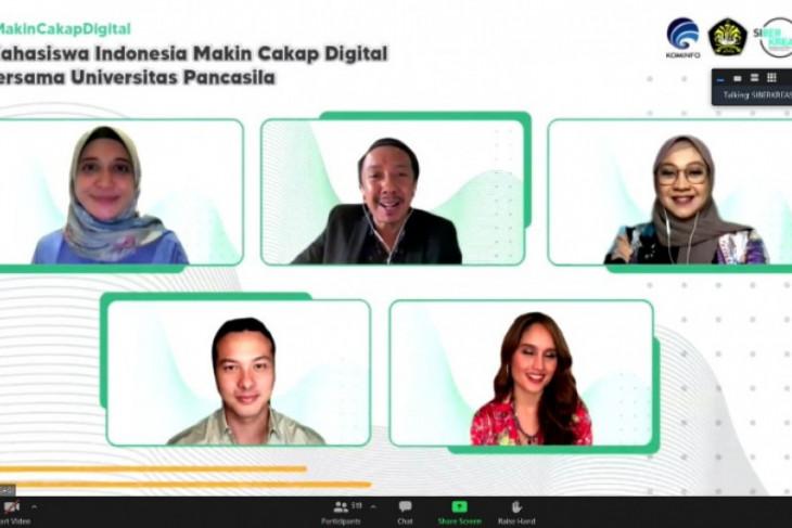 UP-Kominfo gelar sharing session bahas digitalisasi kalangan mahasiswa
