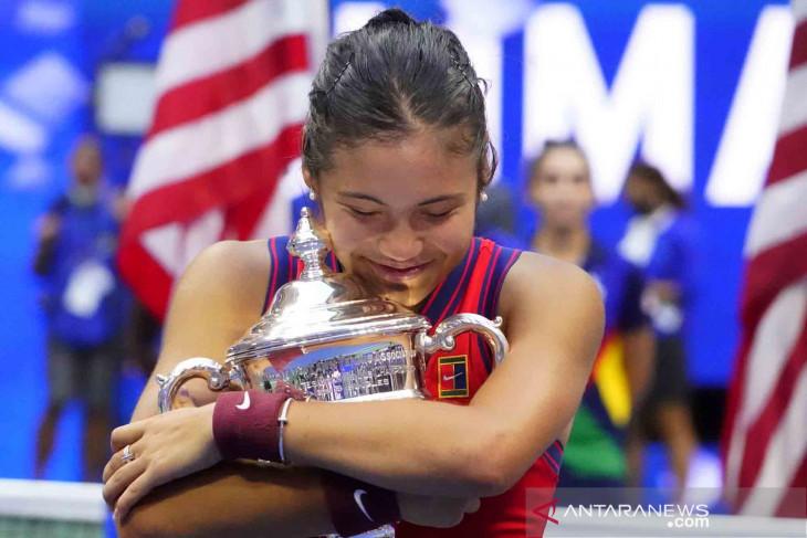 Petenis remaja Raducanu tempati peringkat ke-23 dunia usai juara US Open 2021