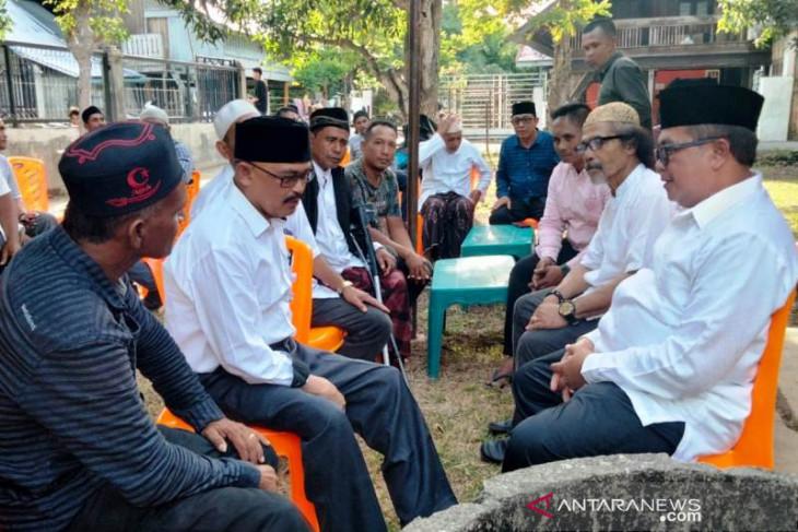 Bupati Ramli MS bertemu petinggi eks GAM di Pidie