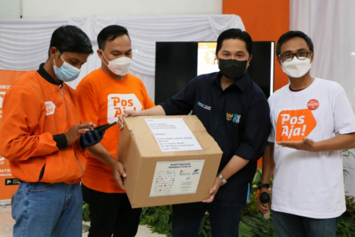 Erick Thohir lauds PT Pos Indonesia for digital transformation move
