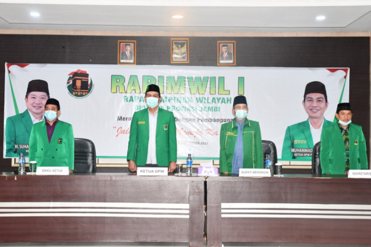 Rapimwil I DPW PPP Jambi di Merangin himpun kekuatan