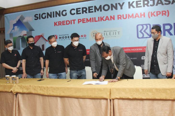 Modernland gandeng BRI untuk pembiayaan KPR di Cilejit, Tangerang