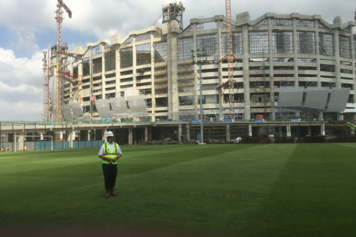 Jakarta International Stadium buat resapan air hujan