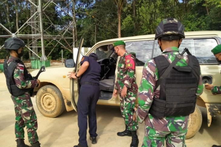 Satgas Pamtas gagalkan upaya penyelundupan mobil asal Malaysia