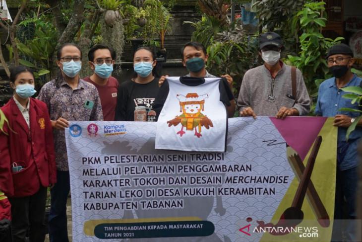 ISI Denpasar bantu lestarikan tari Leko dari Desa Kukuh Kerambitan