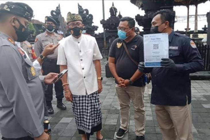DTW Tanah Lot Bali wajibkan wisatawan akses Pedulilindungi