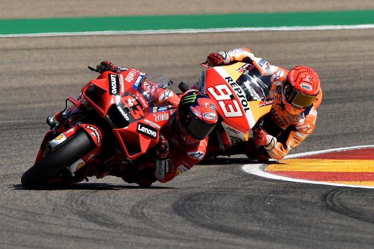 MotoGP: Bagnaia plong setelah rengkuh kemenangan perdana