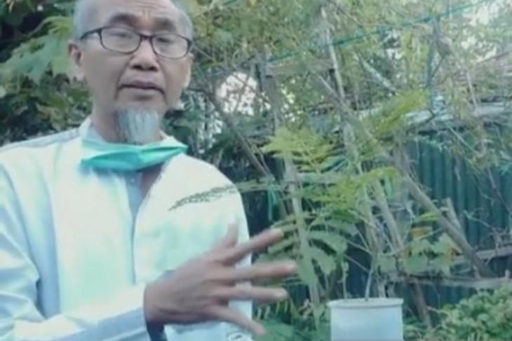 Mohammad Ridho, guru yang mencintai tanaman pewarna