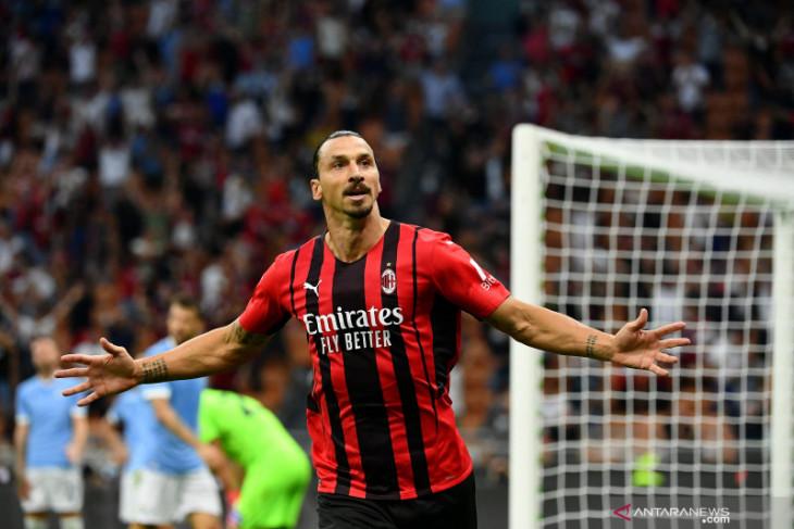 Ibrahimovic comeback, AC Milan tumbangkan Lazio 2-0