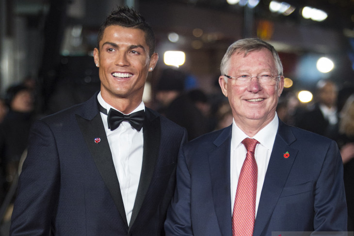 Sir Alex Ferguson ungkap perannya soal kepulangan Ronaldo ke Manchester United