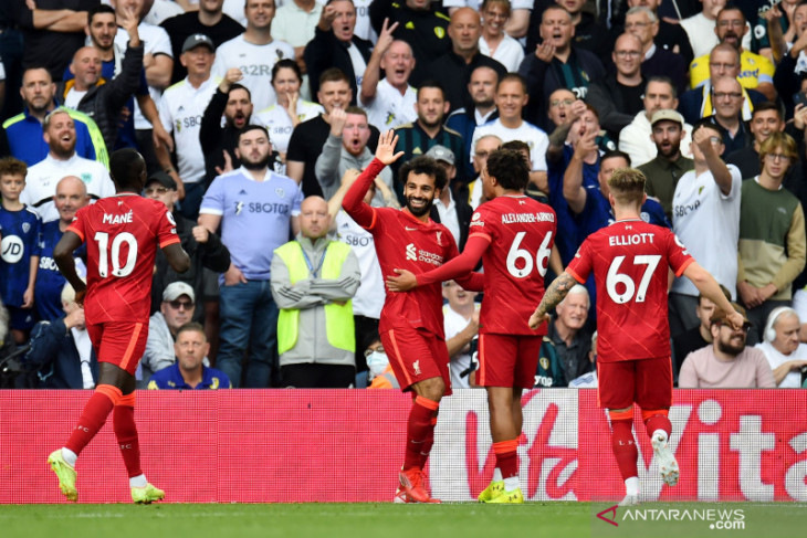 Liverpool kalahkan Leeds United 3-0