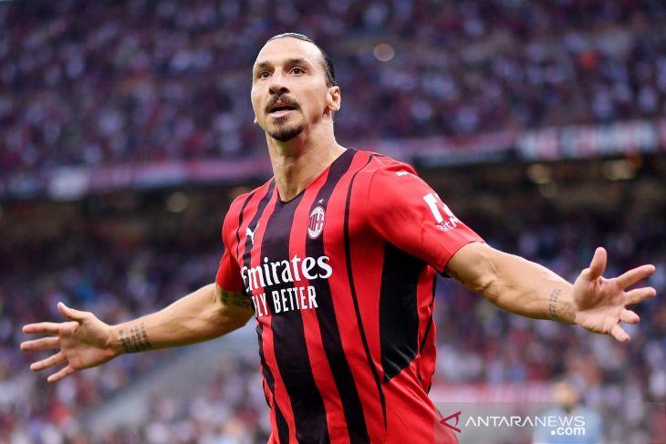 Ibrahimovic dipastikan absen saat AC Milan hadapi Liverpool