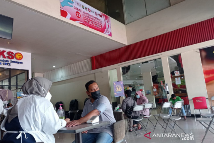 Ada layanan vaksinasi di rest area KM19 Tol Jakarta-Cikampek