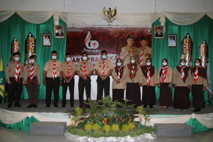 Kwarcab HSS ikuti peringatan hari Pramuka secara virtual