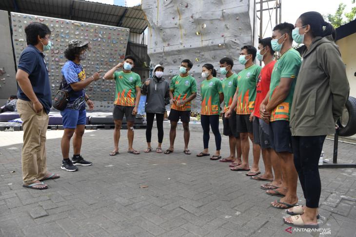 Atlet Panjat Tebing Unggulan Jatim PON Papua