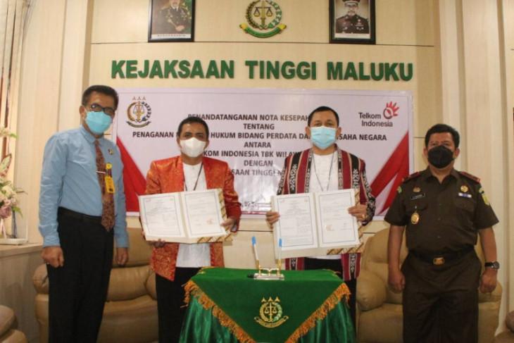 Telkom - Kejati Maluku kerja sama penanganan masalah hukum begini penjelasannya