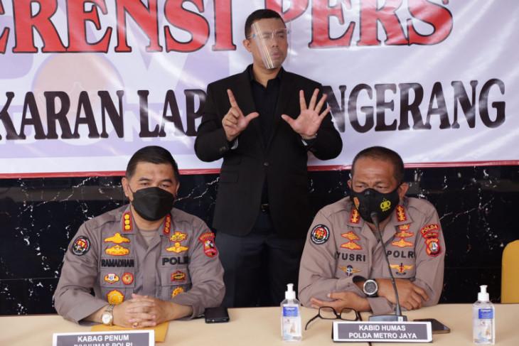 Delapan jenazah korban kebakaran Lapas Tangerang berhasil teridentifikasi per Senin
