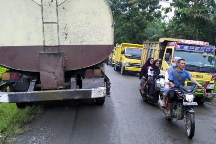 Kecelakaan lalu lintas di Padang Tualang Langkat, korban meninggal dunia