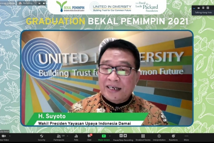 Graduation of BEKAL Pemimpin 2.0, Passes 58 Candidate Leaders of Change of Natural Resources Management Of Indonesia