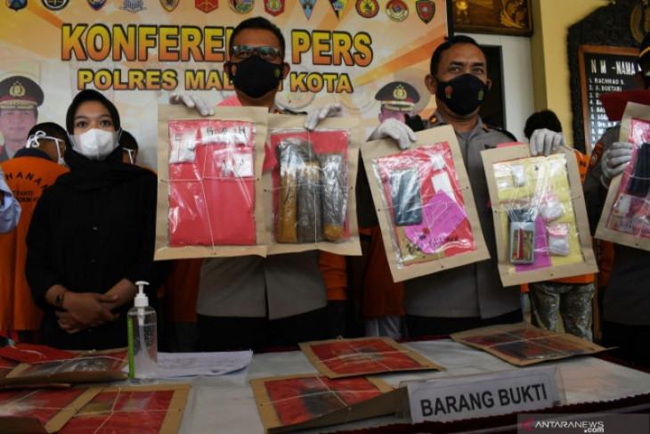 Polres Madiun Kota ringkus 15 tersangka narkoba selama Juli-September