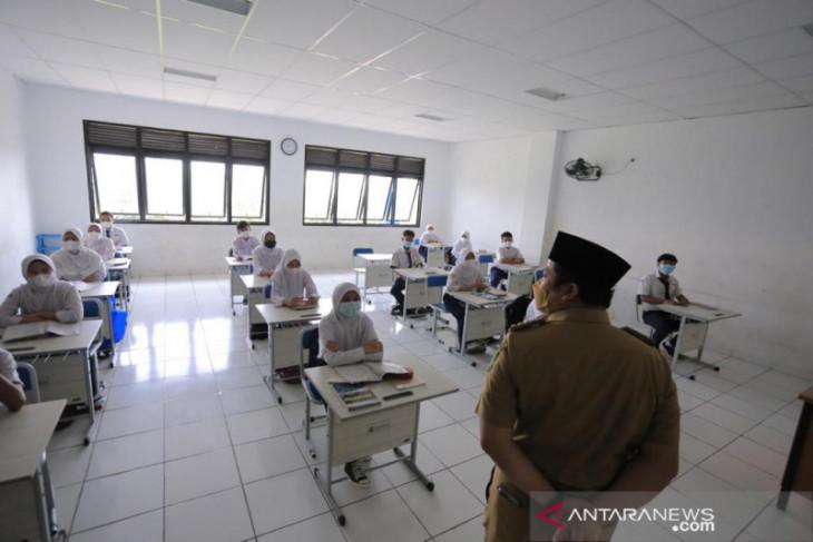Sebanyak 40 SMP di Kota Tangerang laksanakan ujicoba PTM
