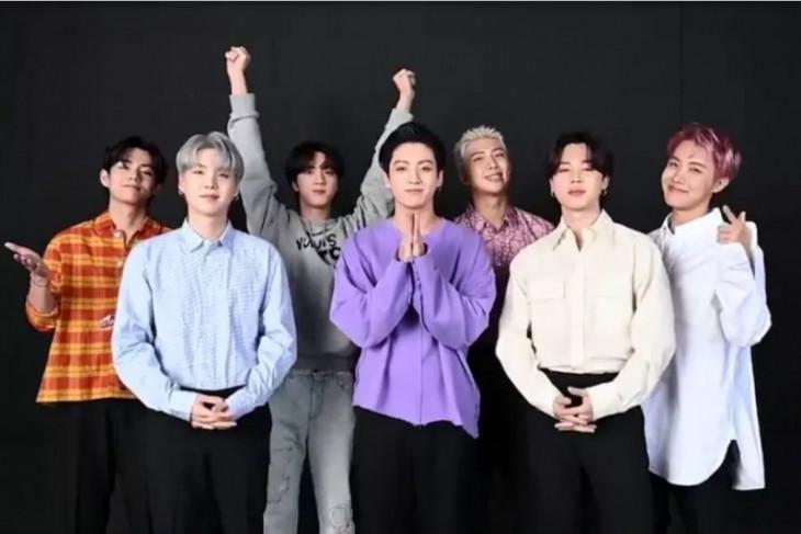 BTS raih tiga piala di MTV VMA 2021