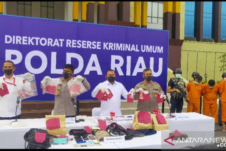 Polisi menangkap perampok Rp775 juta uang ATM BRI