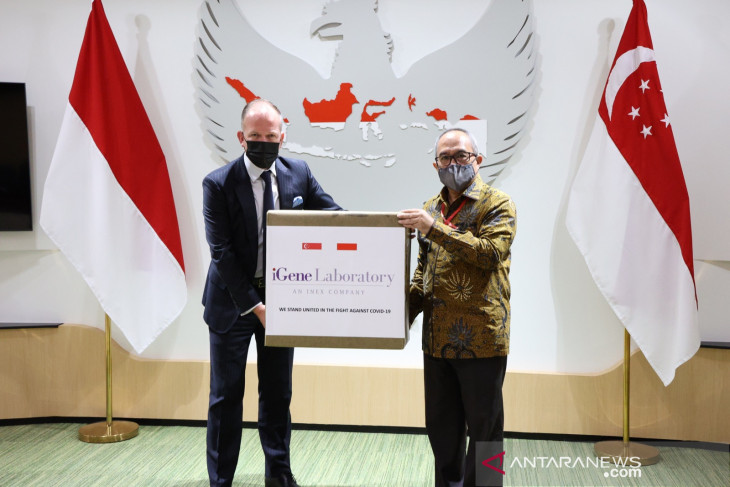 Pandemi COVID-19 melanda dunia perkuat hubungan Indonesia-Singapura