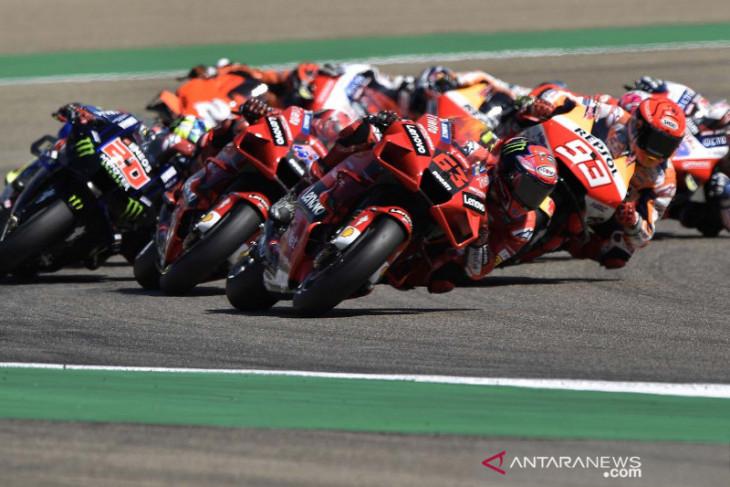 MotoGP: Bagnaia siap pimpin pasukan Ducati di Misano