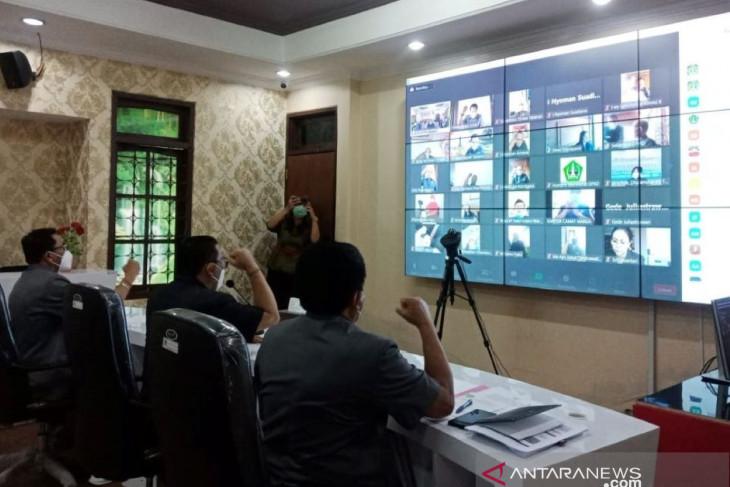 Bupati Tabanan sampaikan Perubahan APBD secara virtual