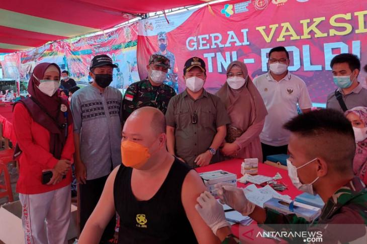 Cakupan vaksinasi COVID-19 di Sambas sudah 63.500 orang