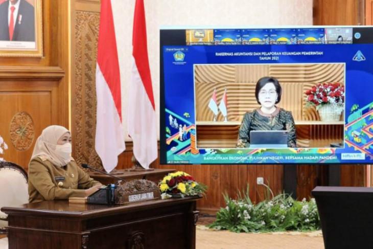 Khofifah: Apresiasi WTP harus tingkatkan akuntabilitas keuangan Pemprov Jatim