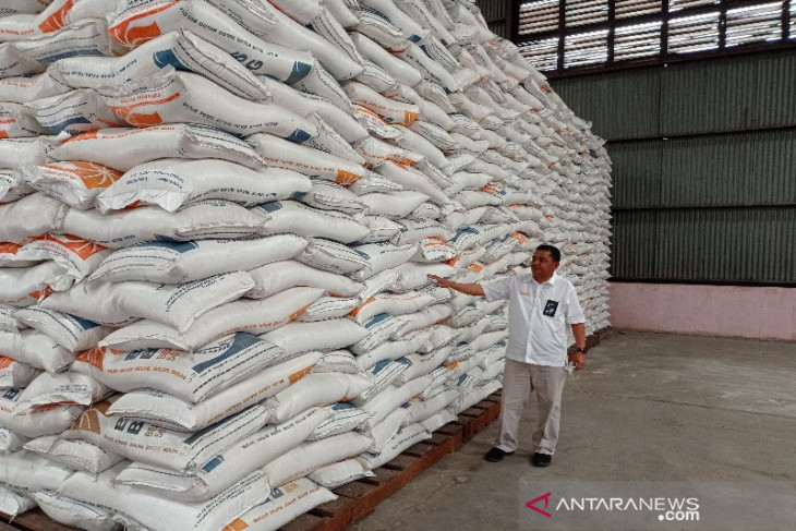 BULOG Sumut sudah beli 17.698 ton beras petani