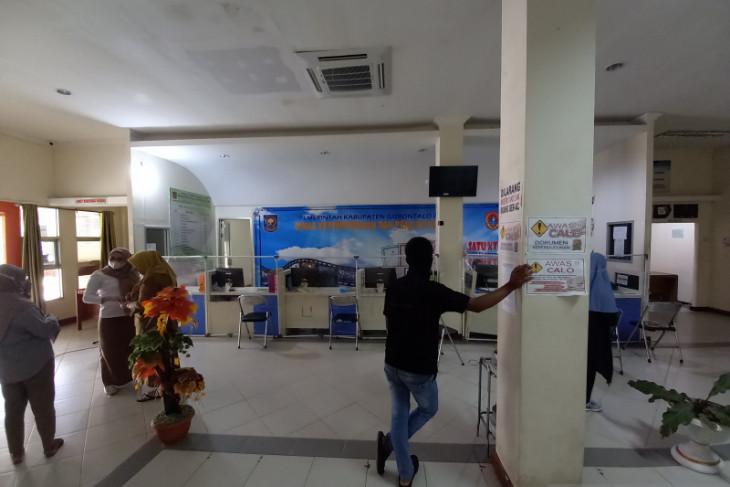 Staf honorer Disdukcapil Gorontalo Utara lakukan mogok kerja