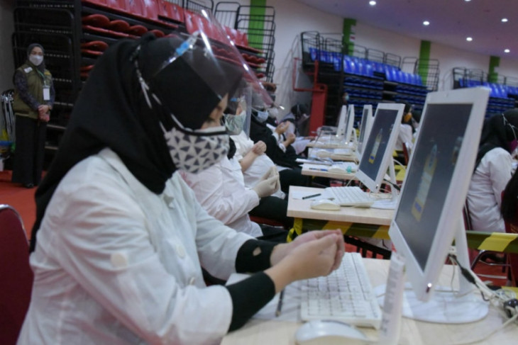 27.000 orang perebutkan kursi CPNS di Pemprov Jabar