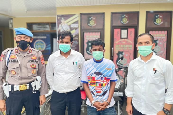 Coba Kabur, Polisi lumpuhkan pencuri 11 sepeda motor