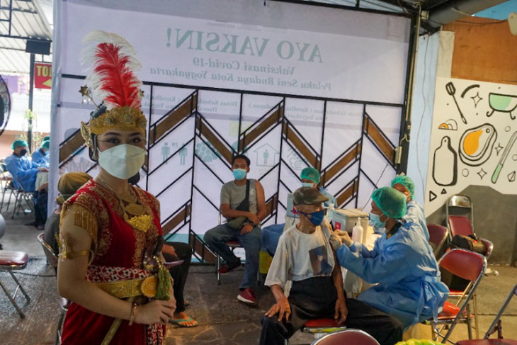 Vaccine quota at Yogyakarta center exhausted due to high demand