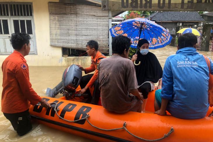 BPBD: Banjir rendam ratusan rumah di Banten