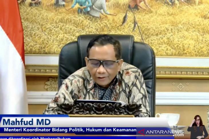 Mahfud MD koordinasikan penyelenggaraan acara G20 di Indonesia