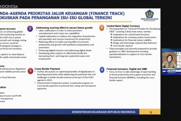 Sri Mulyani ungkap tujuh isu prioritas dibahas dalam Presidensi G20