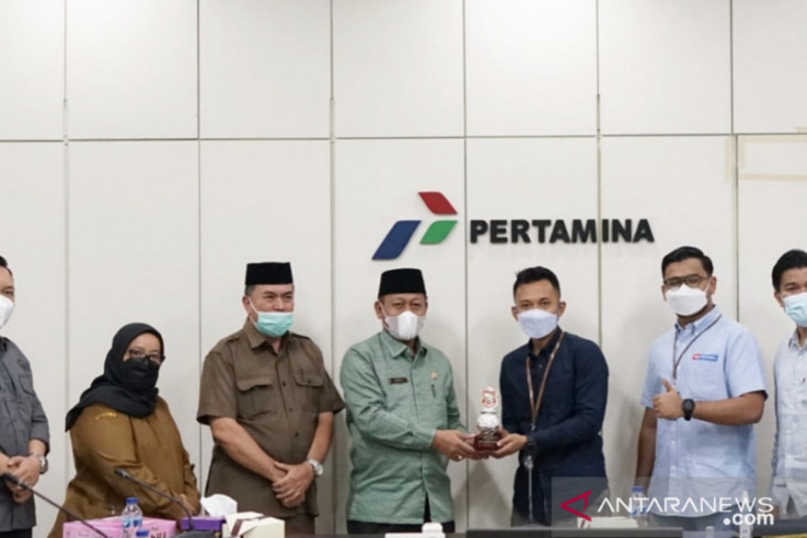 Pemkot Tanjungbalai perkuat sinergitas dengan Pertamina