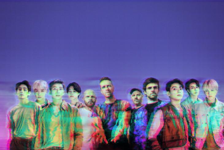 Kolaborasi baru Coldplay & BTS lewat