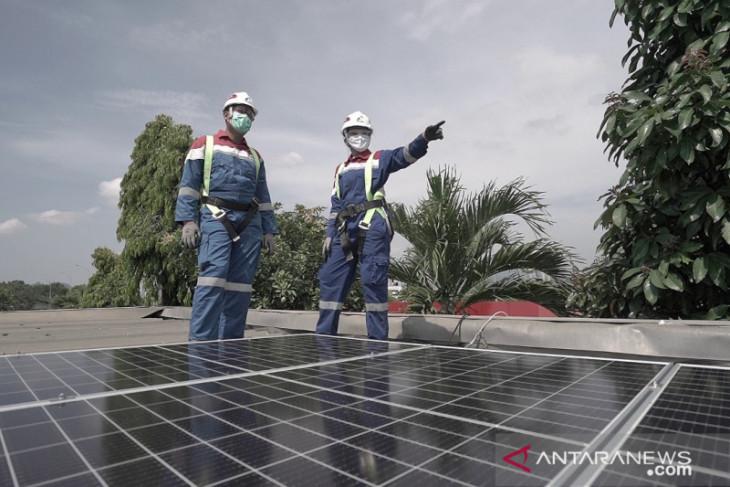 Pertamina hemat Rp4 miliar setahun dari pemasangan PLTS atap di SPBU
