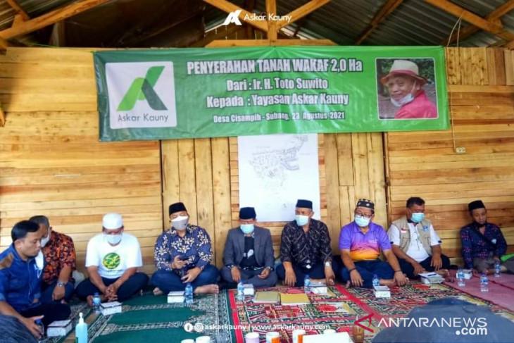 Yayasan Askar Kauny Bangun Pesantren di Subang