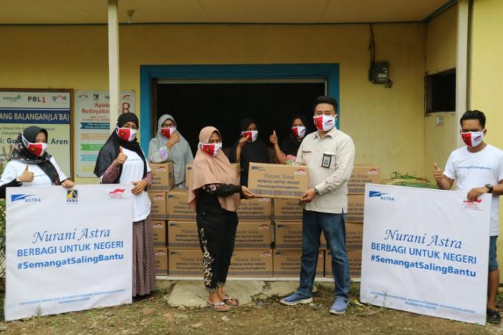 Nurani Astra berbagi untuk negeri Kalimantan Selatan