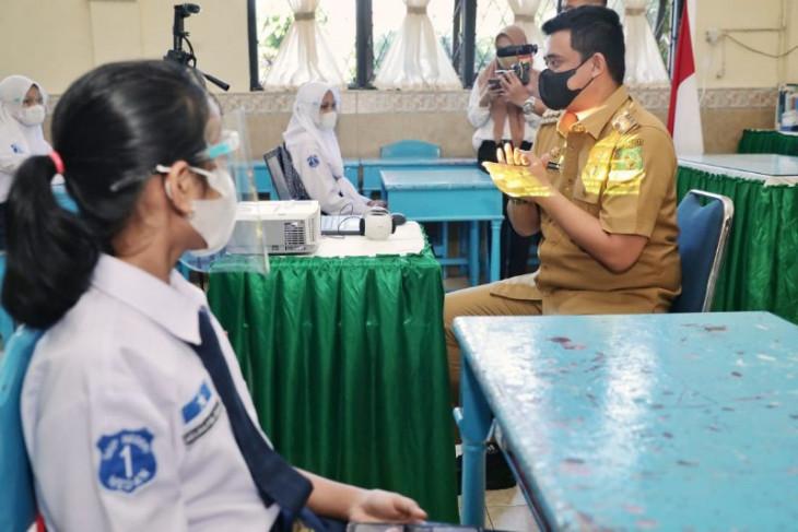 86 persen guru di Medan sudah divaksin