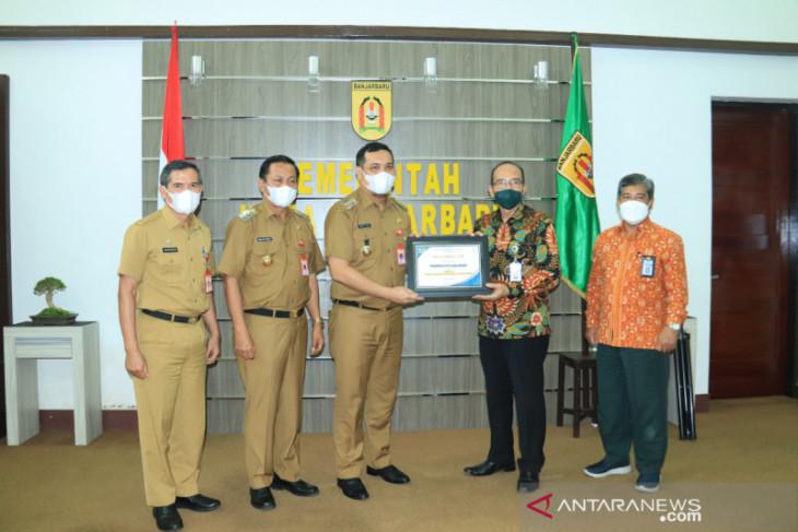 Pemkot Banjarbaru raih penghargaan pengelolaan pajak terbaik