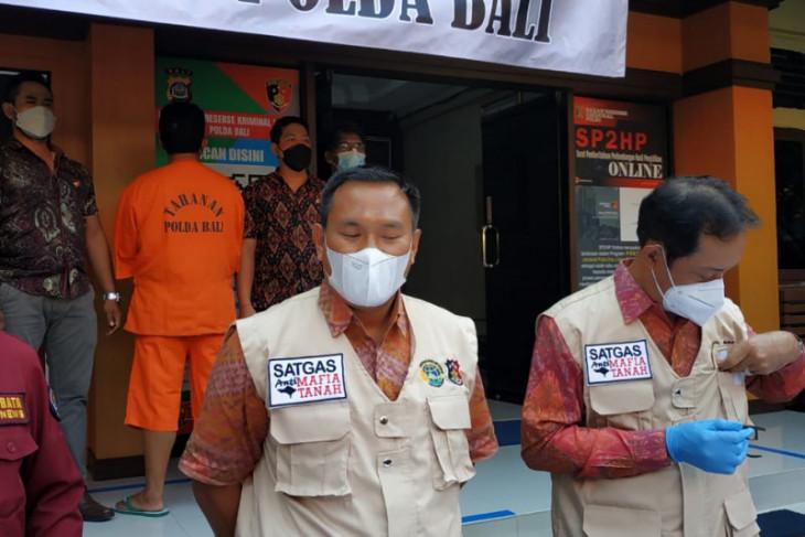 Polda Bali ungkap kasus pemalsuan akta tanah yang rugikan ratusan juta