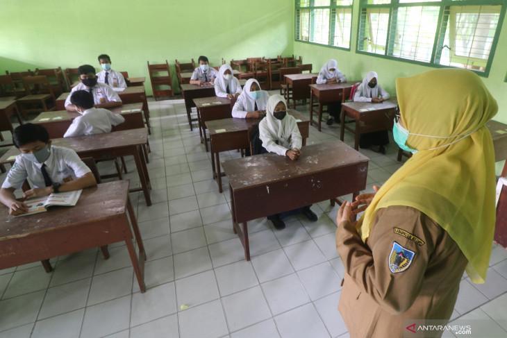 Pembelajaran Tatap Muka Terbatas di Kediri